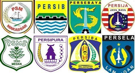 asal usul logo tim tim sepakbola indonesia