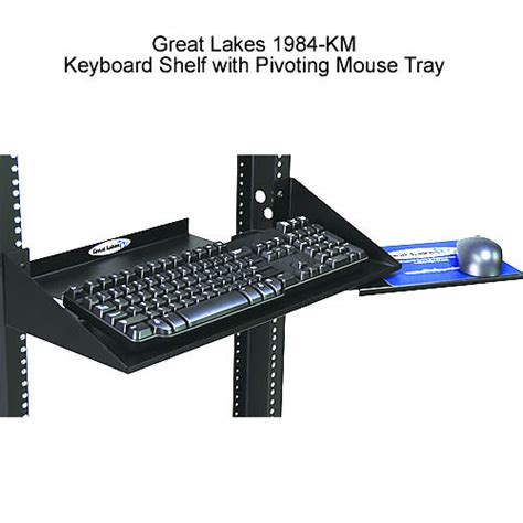great lakes keyboard tray and mouse shelf
