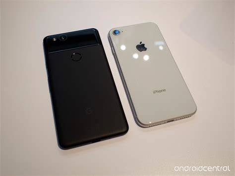 pixel 2 vs iphone 8 do these bezels make my phone look android central