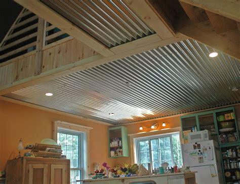 Corrugated Tin Ceiling by Corrugated Cottage Ceiling