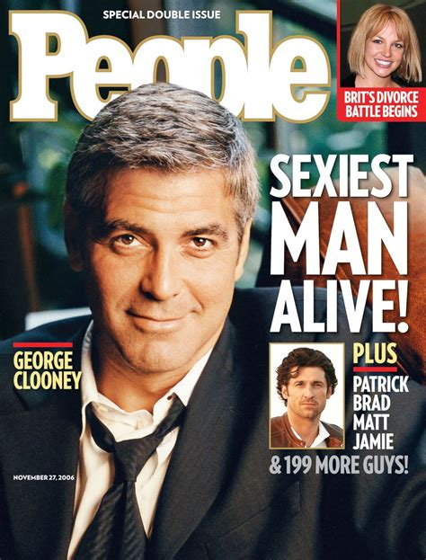celebrity news magazines list people magazine s sexiest man alive through the years