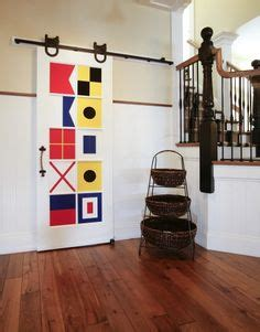 Semaphore Pantry by Signal Flags Spell Out Last Name Signal Flag