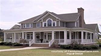 Southern House Plans With Wrap Around Porches Wrap Around Porch Mytechref Com