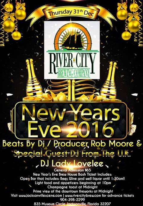 new year 2015 in jacksonville or new years 2016 river city brewing company jacksonville