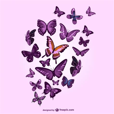 wallpaper butterfly pink vector purple butterflies and pink background vector free download