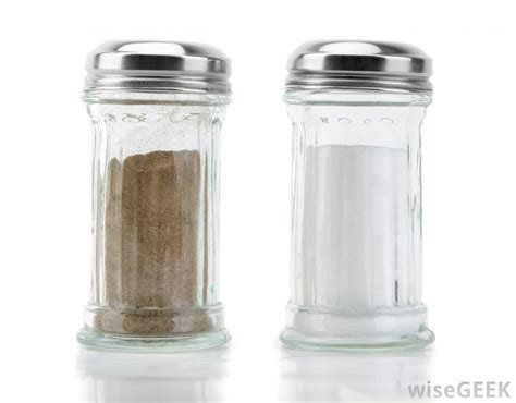 how to go from salt and pepper to all white hair which has more holes the salt shaker or the pepper shaker