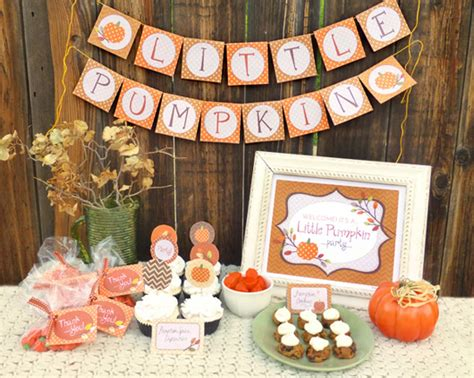 Fall Baby Shower by Yay I Made It Pumpkin Free Printable