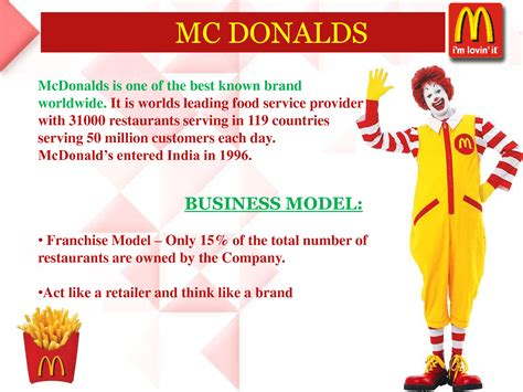 What Makes A Good Home follow mcdonald s business model to improve your business