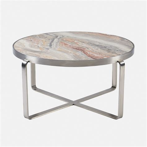 Coffee Table Styles by Arabescato Orobico Round Coffee Table Marble Styles