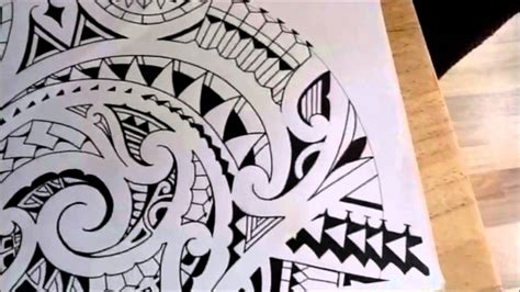 extending a polynesian shoulder sleeve tattoo youtube