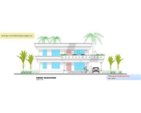kerala villa elevation and plan at 2853 sq ft kerala villa design plan and elevation 2760 sq feet