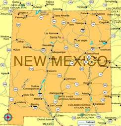 map of new mexico new mexico map regional political map of mexico regional