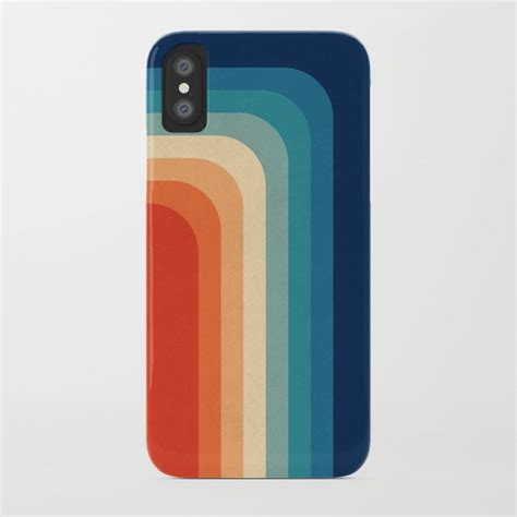 retro 70s color palette iii iphone by alisagal society6