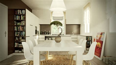 Eat In Kitchen Island Designs by Eat In Kitchen White Chair And Table Olpos Design