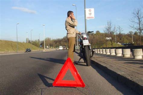 il triangolo testo il triangolo anche per le moto motociclismo