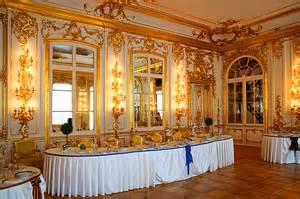 Interiors of Catherine Palace in Tsarskoye Selo (Pushkin), south of St