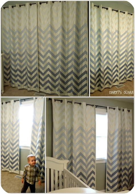 ombre chevron curtains 25 best ideas about paint chevron on pinterest paint