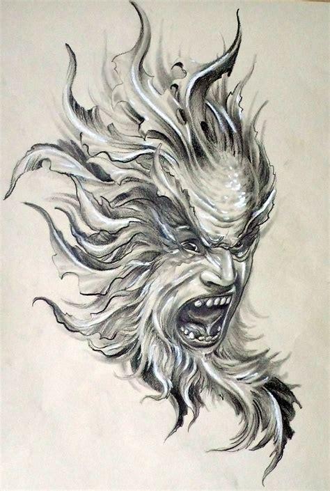 evil demon tattoo designs evil design tattoobitecom evil