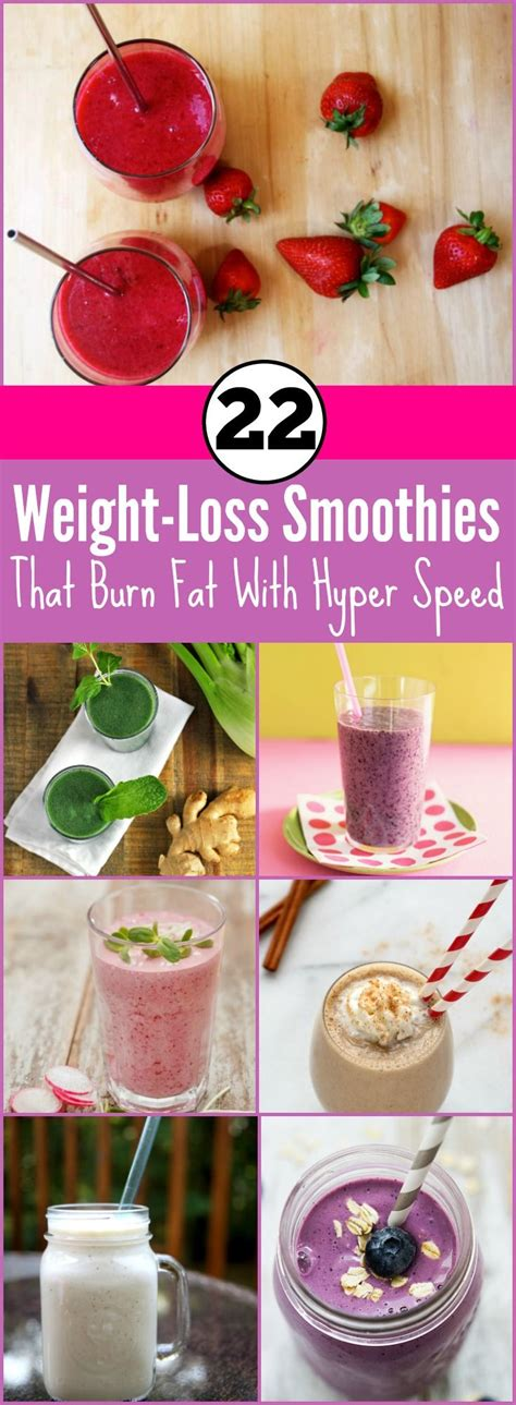 Speed Detox Drink by 22 Weight Loss Smoothies That Burn With Hyper