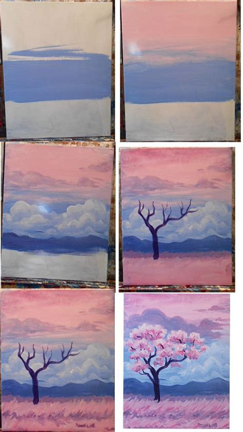 acrylic painting ideas tutorial 25 best ideas about acrylic paintings on