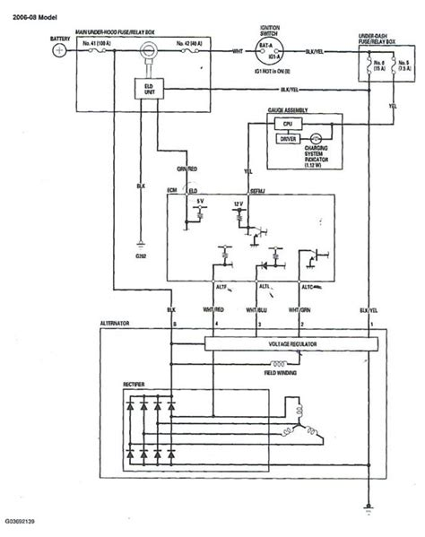 gmcs 130 alternator wiring diagram wiring diagrams
