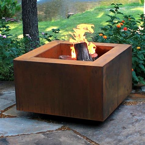 wood burning firepits vesta fia 30 quot wood burning pit wood burning