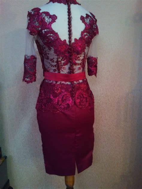 Kimono Merah Maroon obi kebaya newhairstylesformen2014