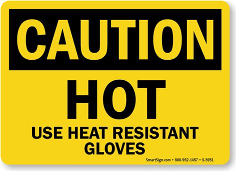 in heat signs warning signs surface signs mysafetysign