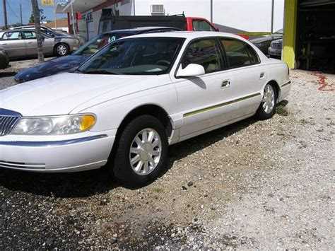how to work on cars 1999 lincoln continental navigation system sell used 1999 lincoln continental white 4 door project car in punta gorda florida united