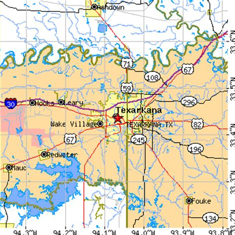 texarkana texas map texarkana texas tx population data races housing economy