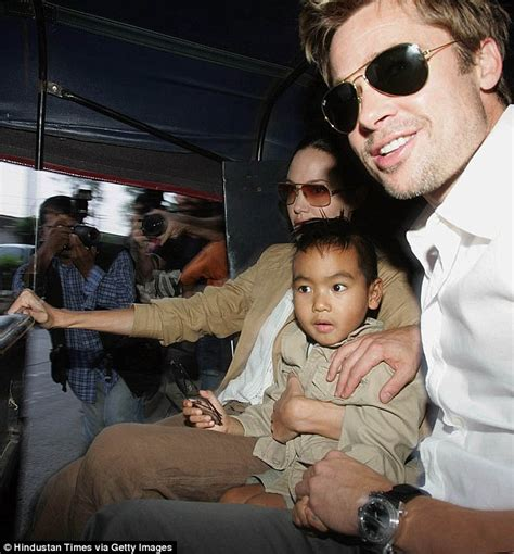 Brangelinas Adoption To Be Processed In Weeks by Brad Pitt S Fight With Maddox Allegedly On