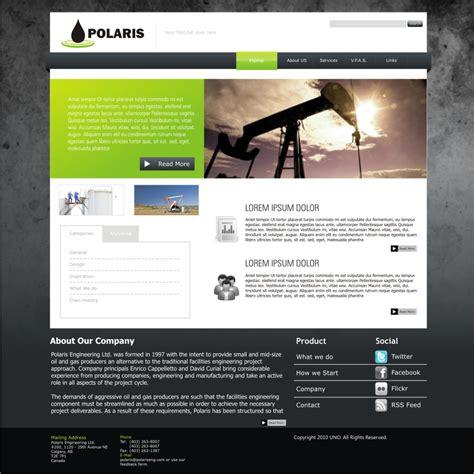 graphic design web page layout web page design contests 187 polaris engineering ltd