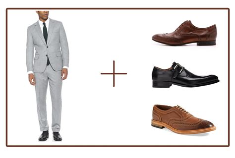 what color shoes to wear with grey suit how to coordinate your suits and shoes like a pro
