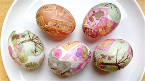 Decoupage Easter Eggs - decoupage easter eggs grandparents