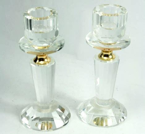 candelabros de cristal candelabros de cristal para shabat mod 84761 1130