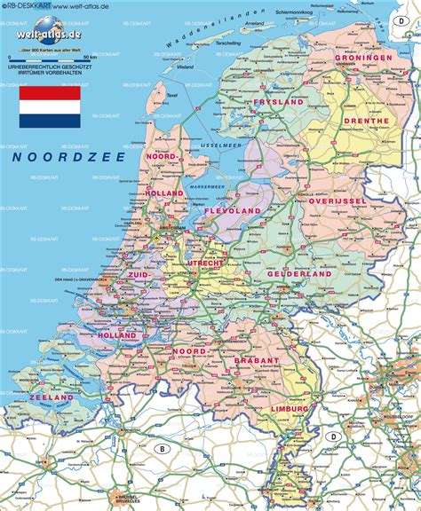 netherlands map map map of netherlands map in the atlas of the world world