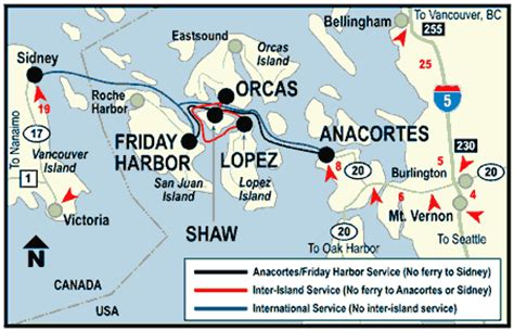 washington state ferries map columbia s vancouver island ferries information