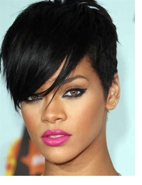 rihanna images of front and back short hair styles rihanna short hairstyles 2018 front back view