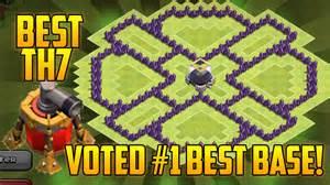 Clash of clans th7 farming base best town hall 7 dark elixir farming