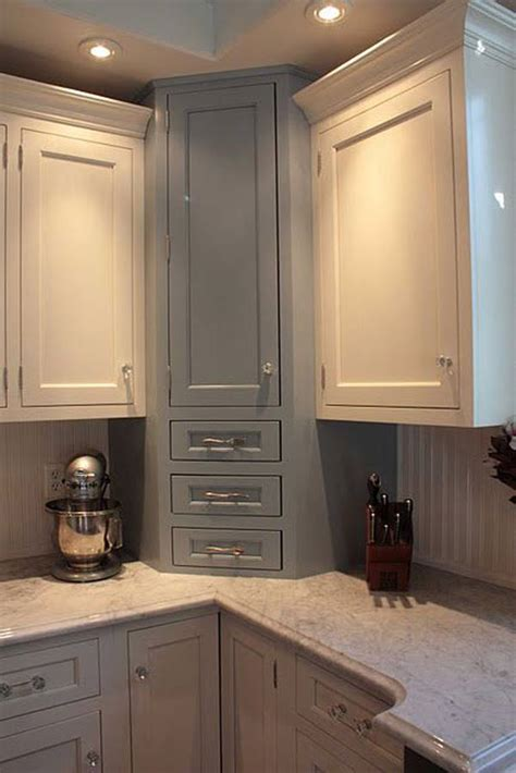small space kitchen cabinets 19 amazing ideas how to use your home s corner space