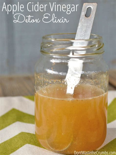 Apple Cider Vinegar For Detox by Apple Cider Vinegar Detox Elixir