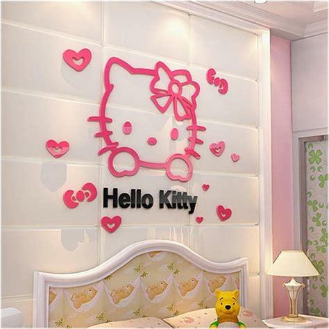 desain dinding kamar tidur hello kitty 34 ide hiasan kamar tidur kreatif terbaru dekor rumah