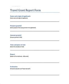 Grant Template by 10 Grant Report Templates Free Premium Templates