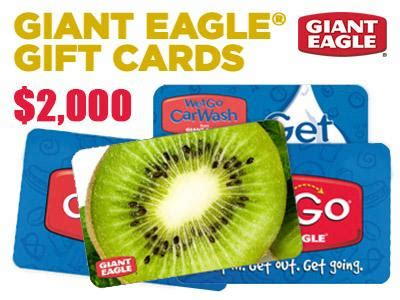 Gift Card Giant Eagle - www gianteaglelistens com win 2 000 giant eagle store gift cards in monthly