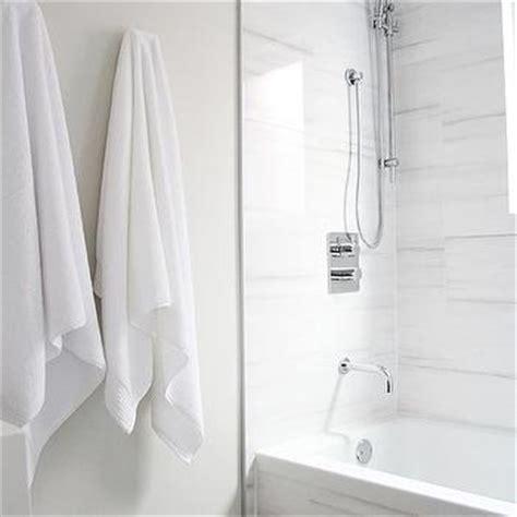 White Marble Alternatives   Modern   bathroom   Aubrey