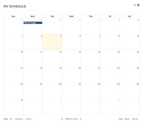 calendar layout stack overflow javascript fullcalendar js add month title below the