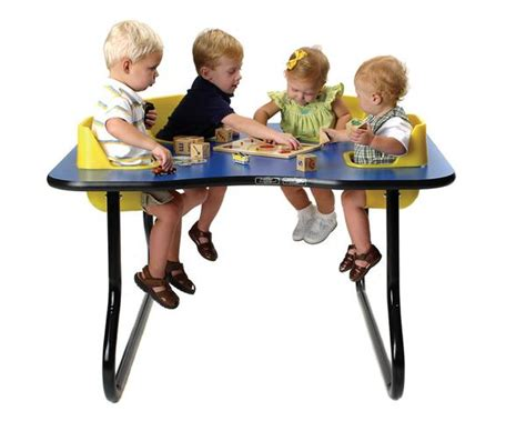 original toddler table  seat space saver table  tall factory select