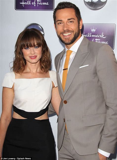 alexis bledel reveals  stunning engagement ring
