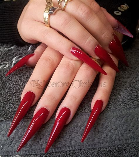 Foto Nagels by Stiletto Nagels Bij Nailcentre Christine