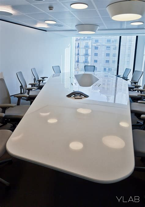 Modern Conference Table Design Large White Table In The Conference Room Decoist